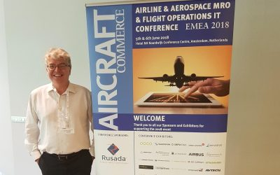 Aerogility attends Airline & Aerospace MRO & Flight Operations IT Conference 2018