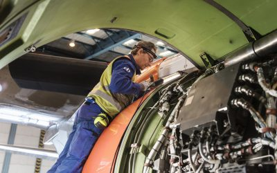 Predictive maintenance software from Aerogility to forecast powerplant shop visits for SAS aircraft
